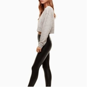 Wilfred Free | XS Vegan Leather Daria Pant